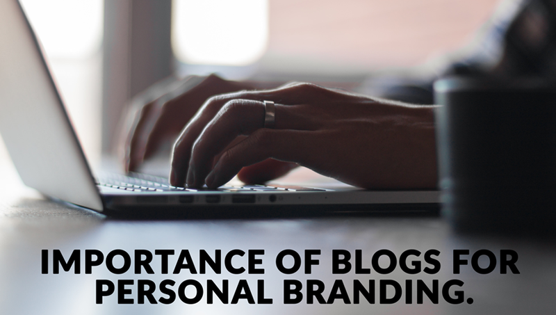Importance of personal blogs